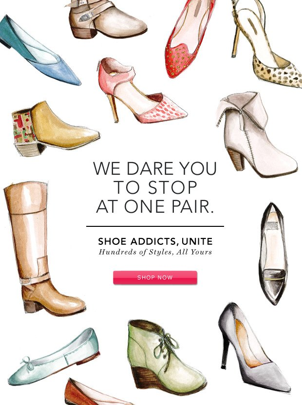 Shoe Addicts, Unite: Hundreds of Styles, All Yours