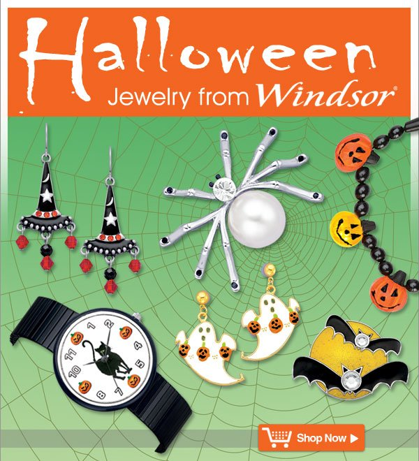 Halloween Jewelry from Windsor - Shop Now >>