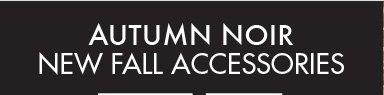 AUTUMN NOIR NEW FALL  ACCESSORIES