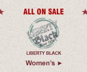 All Womens Liberty Black Boots on Sale