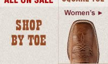 All Womens Square Toe Boots on Sale