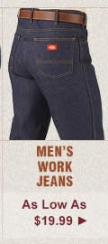 Mens Work Jeans on Sale