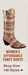 All Womens Affordable Fancy Boots on Sale