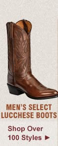 Select Lucchese Boots on Sale