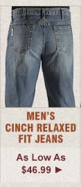 Mens Cinch Relaxed Fit Jeans on Sale