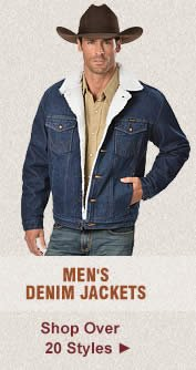 All Mens Denim Jackets on Sale