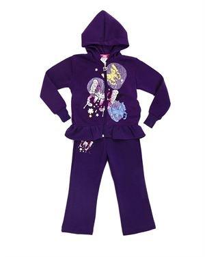 Coney Island Toddler Girl's Butterflies Jacket & Pants Set
