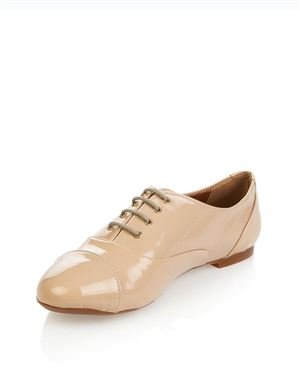 Lua Lua Glossy Oxfords Made In Europe