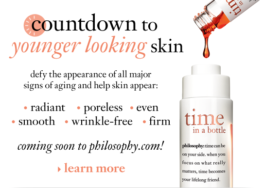 countdown to younger looking skin defy the appearance of all major signs of aging and help skin appear: radiant, poreless, even, smooth, firm and wrinkle-free