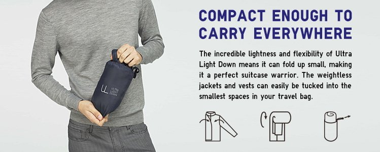 ULTRA LIGHT DOWN JACKET COMPACT POUCH