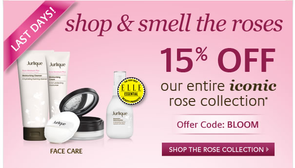 Shop and smell the roses