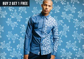 Shop Patterned Wovens ft. Bellfield
