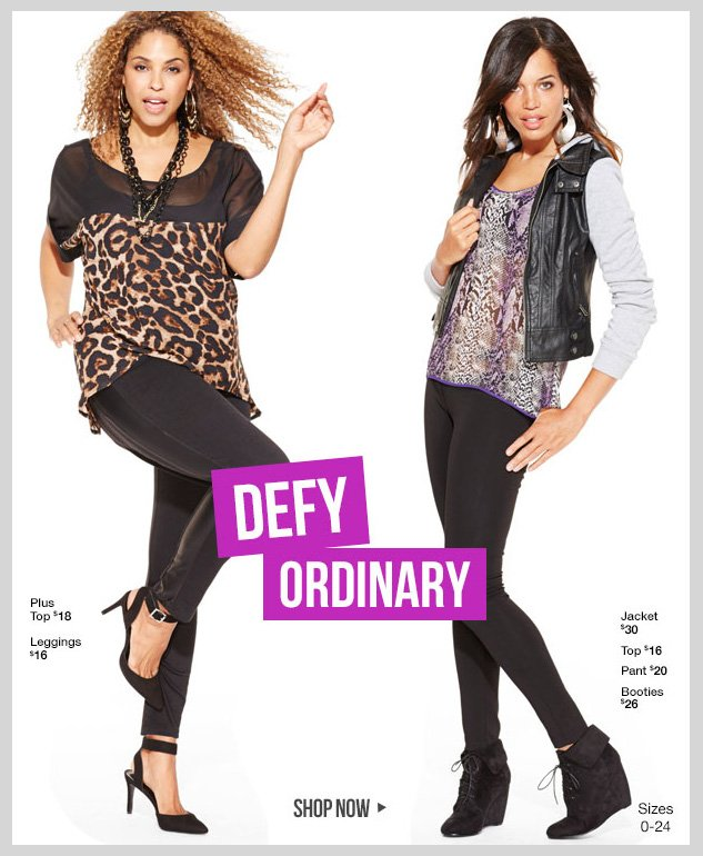 NEW Fall Fashions! SHOP NOW!