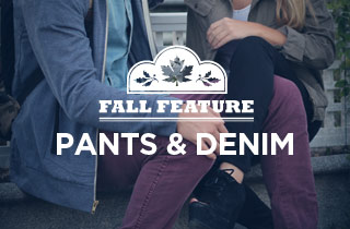 Fall Feature: Pants & Denim
