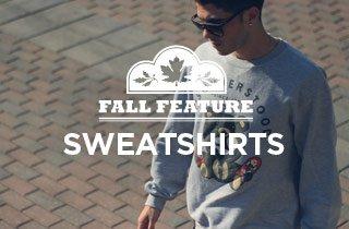 Fall Feature: Sweatshirts