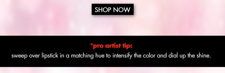 shop now plus a pro artist tip!