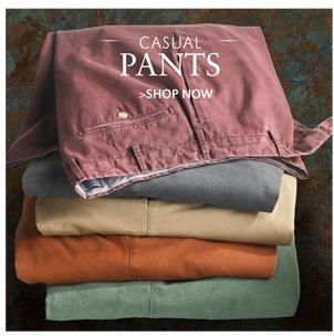 CASUAL PANTS | SHOP NOW