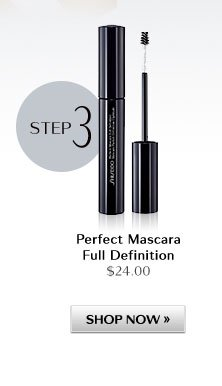 Step 3: Perfect Mascara Full Definition