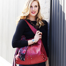 Fall Trend: Oxblood Red