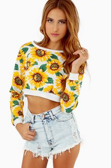 SUNNY SIDE UP CROP TOP  26