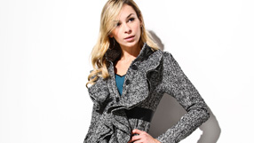 Fall Trends: Faux Leather & Tweed