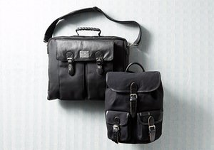 Back to Black: Backpacks, Totes & More