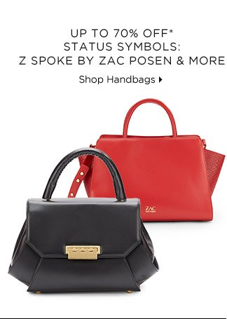 Up To 70% Off* Status Symbols: Z Spoke By Zac Posen & More