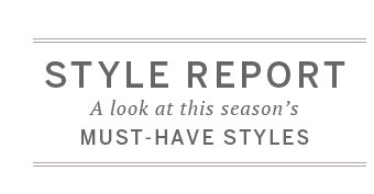 Style Report: A look at this season's must-have styles