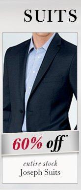 Joseph Suits - 60% Off*