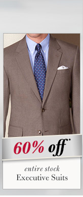 Executive Suits - 60% Off*