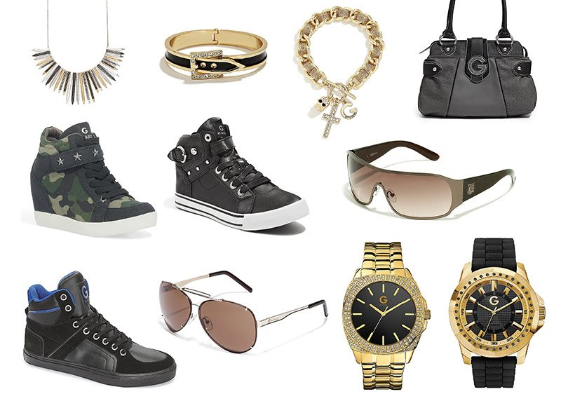 Sunglasses, Shoes, Watches, Bags