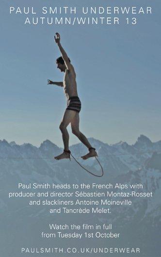 PAUL SMITH UNDERWEAR AUTUMN/WINTER 13