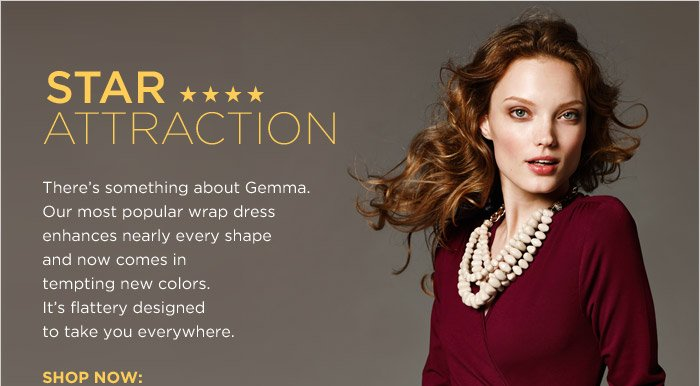 STAR ATTRACTION | SHOP NOW:
