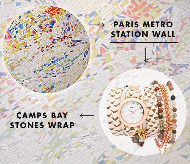 Camps Bay Stones Wrap