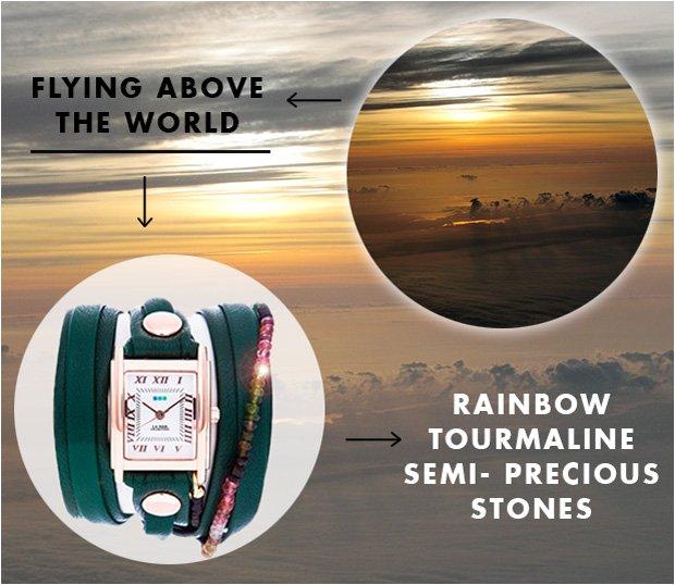Rainbow Tourmaline Semi Precious Stones