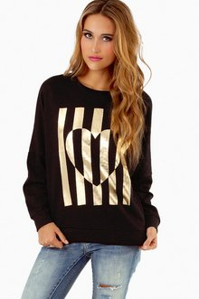 STRIPE AT THE HEART SWEATSHIRT 25