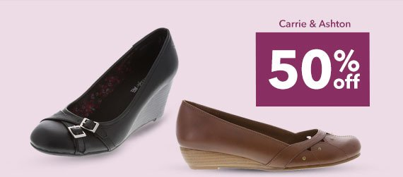 SHOP THE CARRIE & ASHTON - 50% off