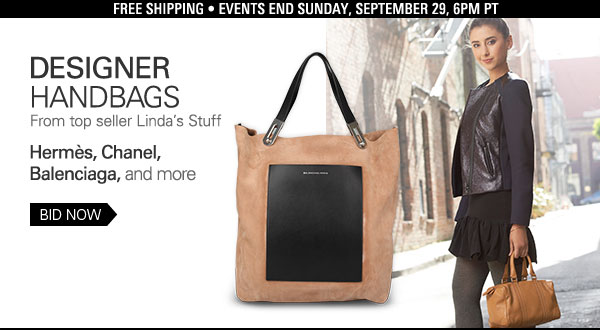 Shop designer handbags for her