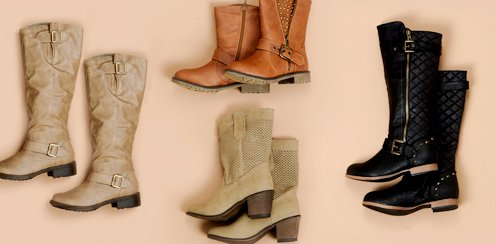 Booties and Boots Starting at $19