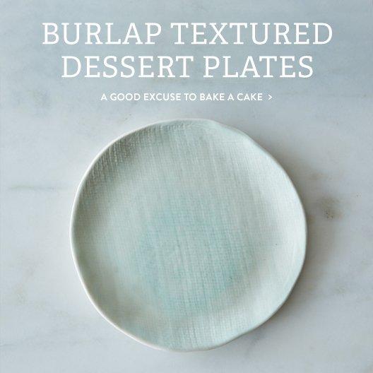Burlap Plates