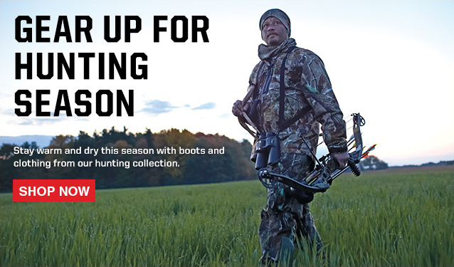 Stay warm this hunting season. Shop the Hunting Collection