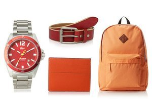Fall Pop: Orange & Red Accents