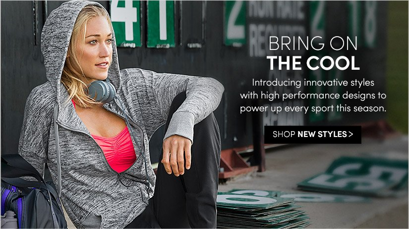 BRING ON THE COOL. SHOP NEW STYLES