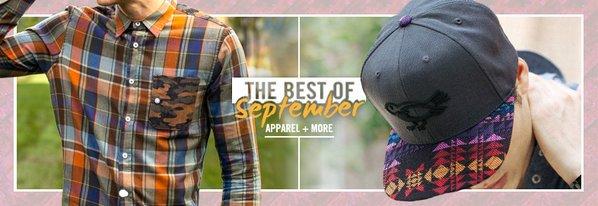 Shop Best of September: Apparel & More