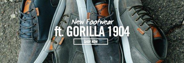 Shop New Footwear ft. Gorilla 1904