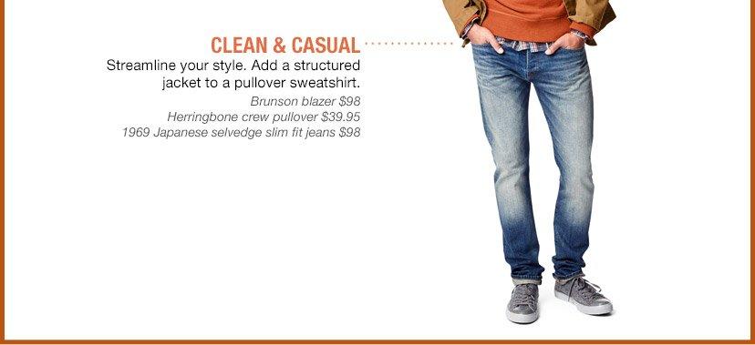 CLEAN & CASUAL