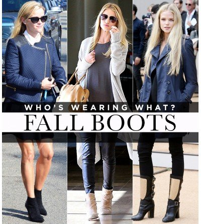 The Boots Your Favorite Celebs Are Wearing Now
