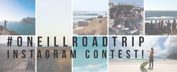 #oneillroadtrip Instagram Contest!