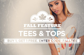 Fall Feature: Tees & Tops