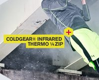 COLDGEAR(R) INFARED THERMO 1/4ZIP
